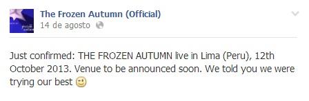 frozen autumn 2013