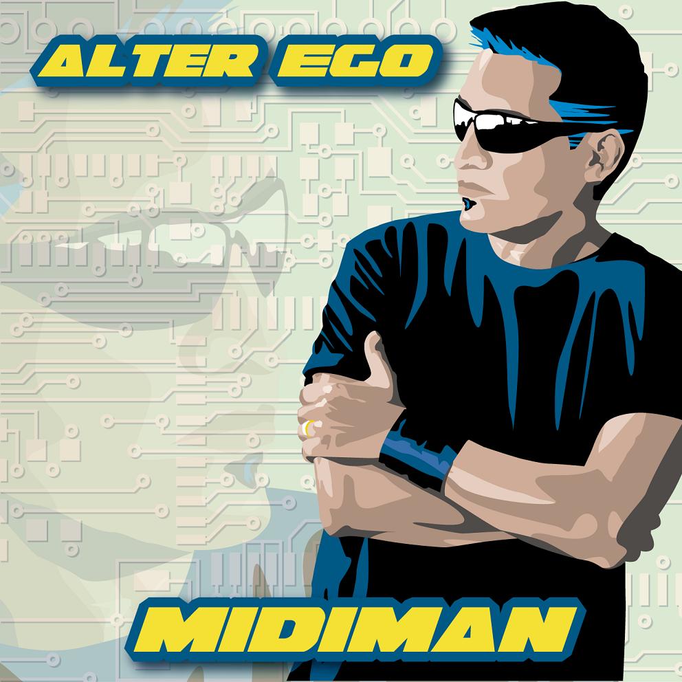 Midiman - Alter Ego - cover
